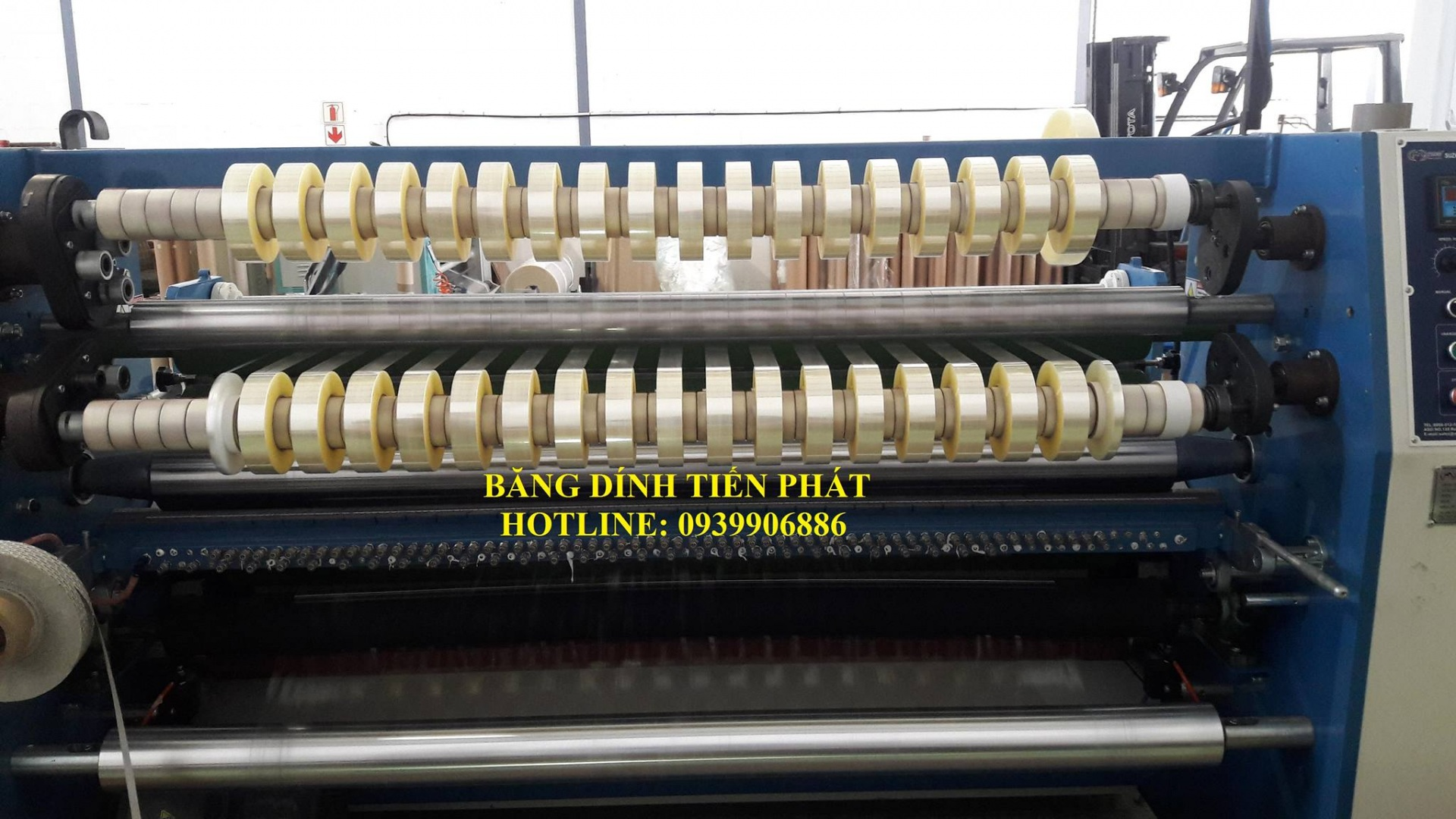 Công nghệ sản xuất băng dính