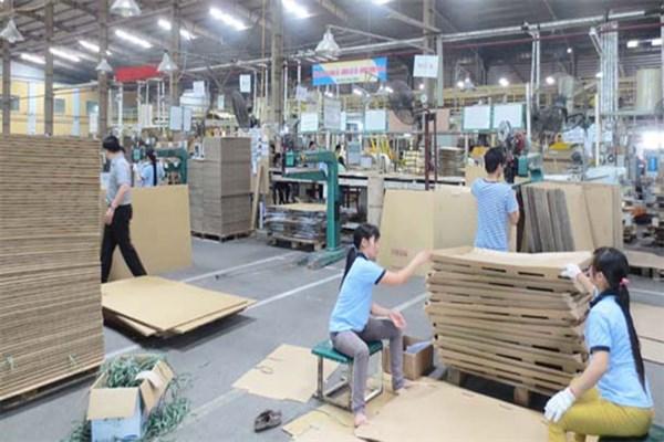 Máy sản xuất thùng carton hiện đại